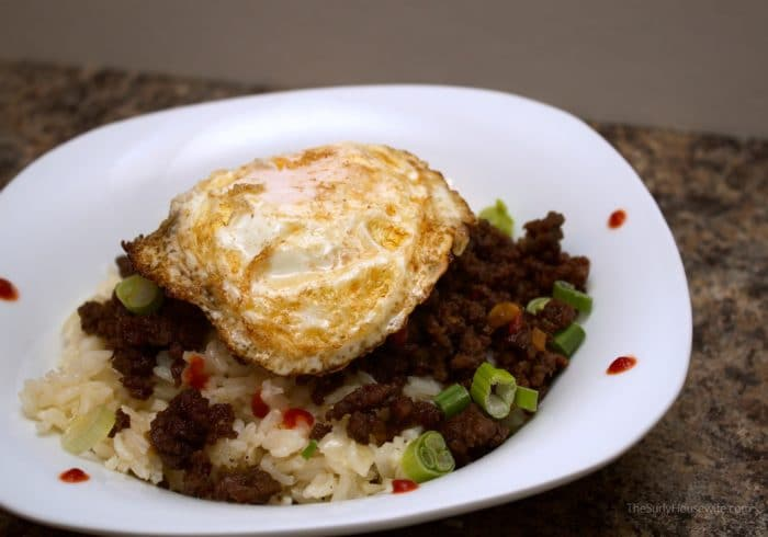 Korean Beef with egg