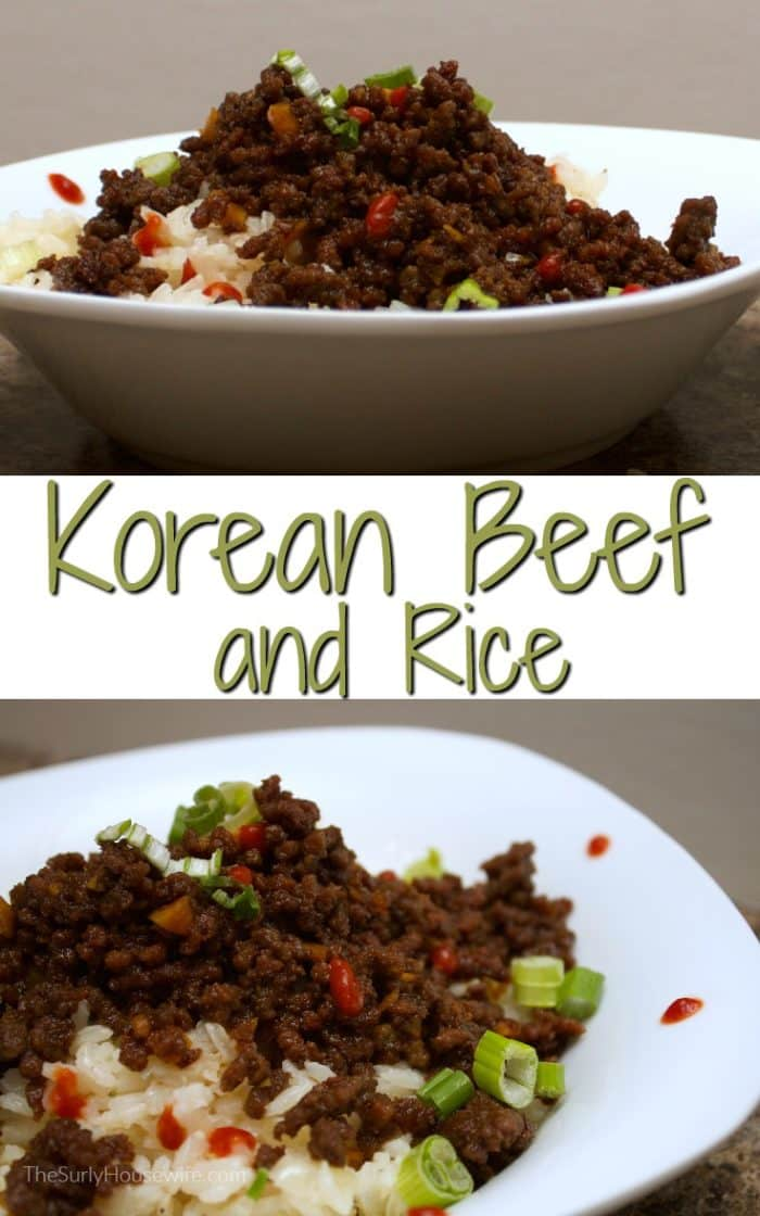 This easy Korean beef recipe uses ground beef so it is the perfect weeknight meal. It's a quick version of the dish bulgogi It's fast, easy, and satisfying!