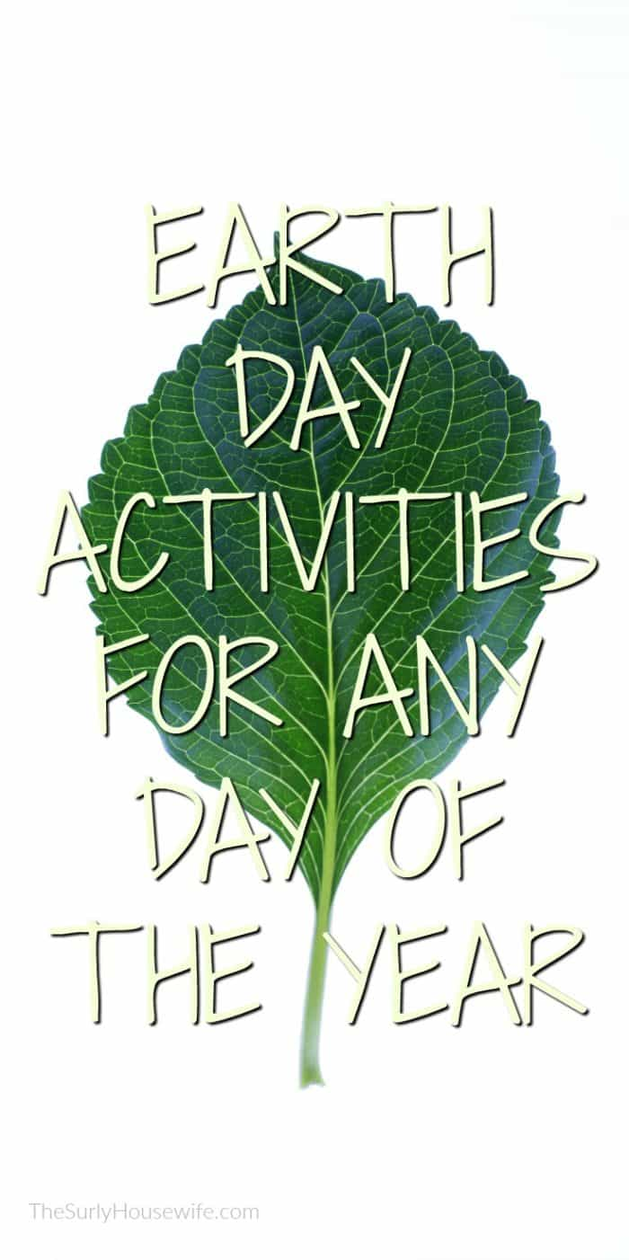 You don't need to do activities to celebrate Earth Day. Earth Day is about respecting nature. 5 Earth Day quotes to help build a connection between kids and nature thus teaching them to honor Mother Nature.