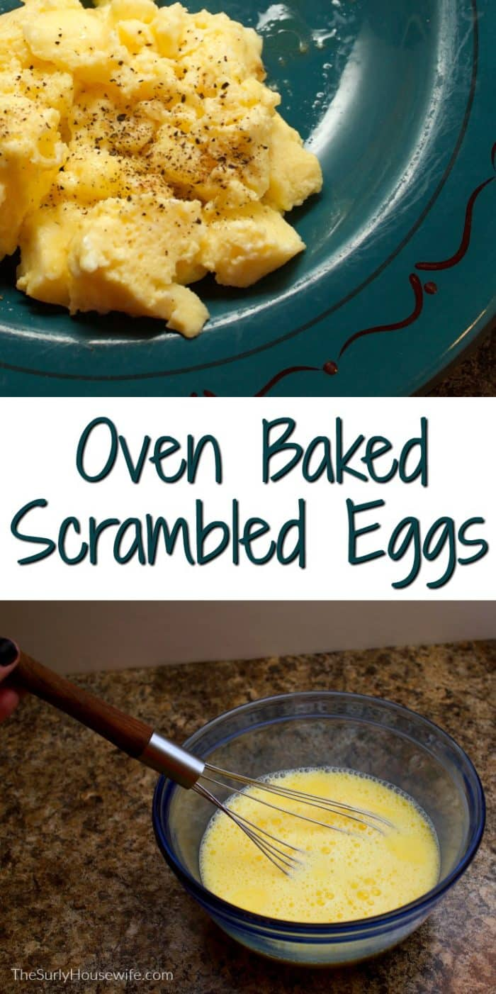 Want to know the secret to foolproof scrambled eggs? Searching for the best scrambled eggs recipe? Try my oven Baked Scrambled Eggs Recipe!