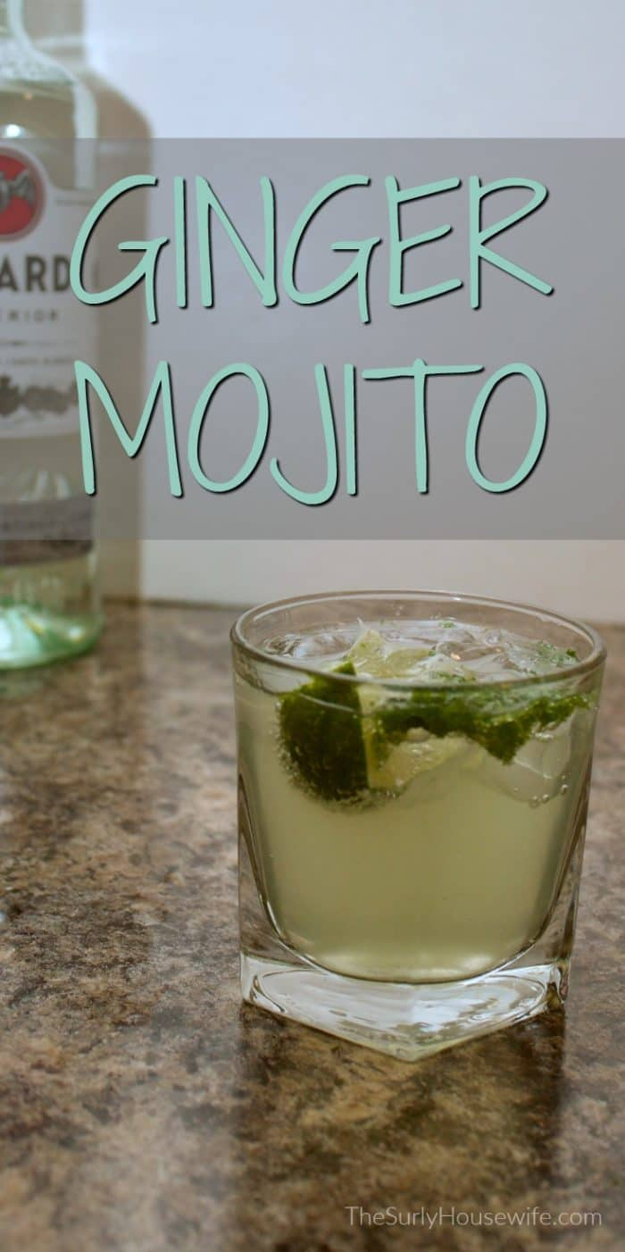 Everyone loves a classic mojito. I decided to change it up a little by adding my favorite ginger soda, Vernors. Click here for my ginger mojito recipe!| Vernors drink recipes.