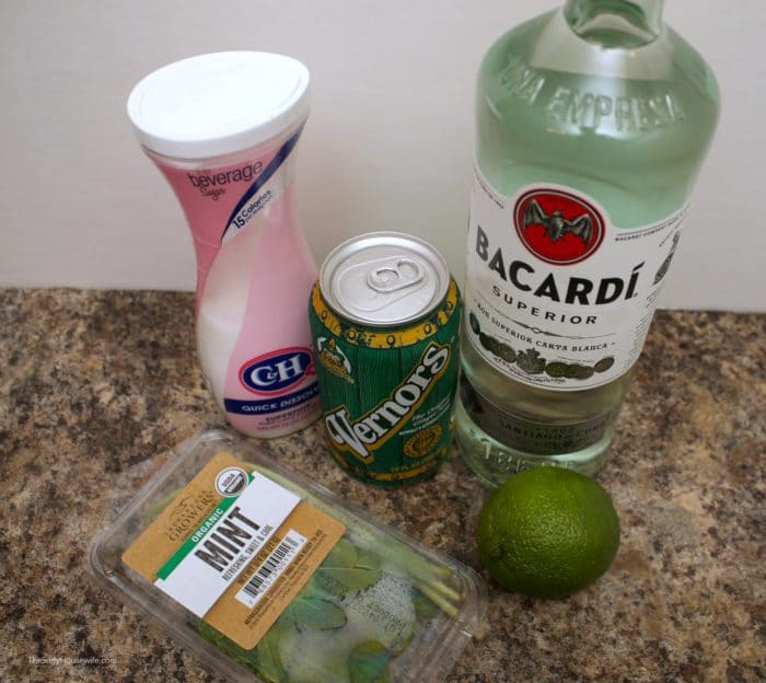 Ginger Mojito Ingredients