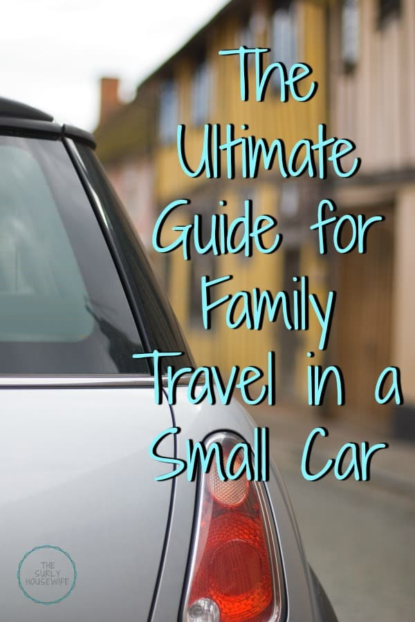 Minimalist Travel: how we survived a vacation as a family of four in a Mini Cooper to Florida and back. 15 road trip tips with kids!
