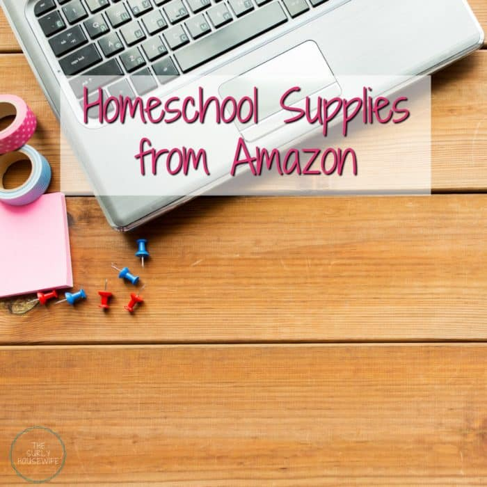 Looking for a list of homeschool supplies? Need tips on where to buy your supplies? Check out this post for 10 homeschool supplies you can get from Amazon!