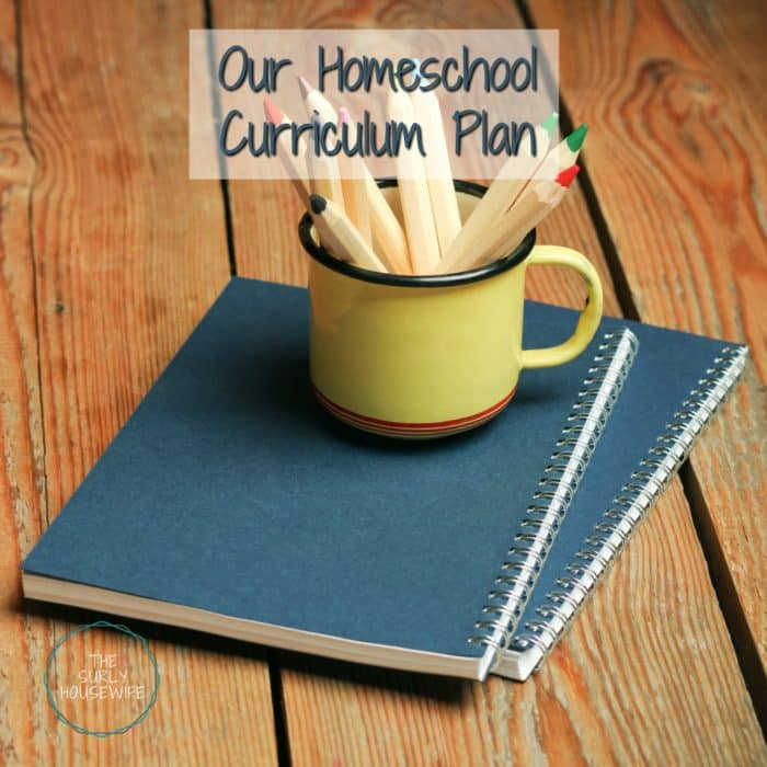 Homeschool Curriculum for 2017