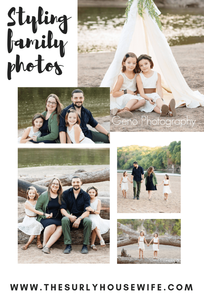 Styling your family for family portraits doesn't have to be a chore. I am make it simple with these three tips on how to choose outfits for family photos!