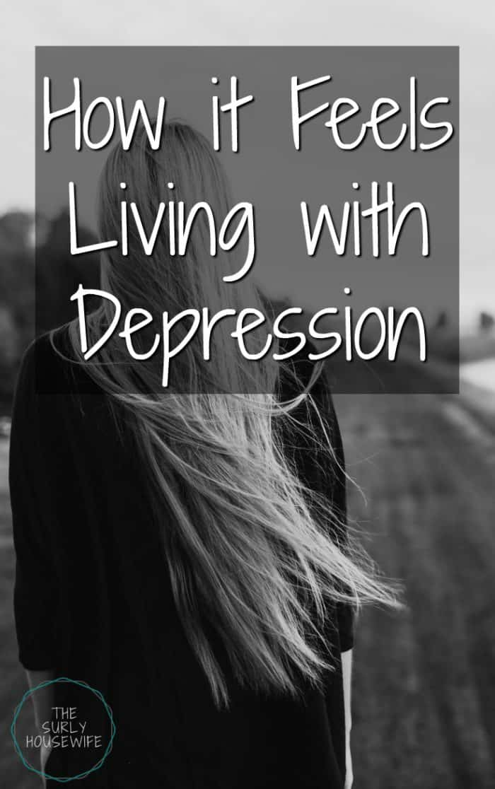 Have you ever wondered what it's like to live with depression? What does it feel like to be depressed? Click here to find out more! | Living with Depression | depression | depression recovery | depression quotes | depression symptoms