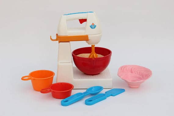 1989 Fisher Price Fun with food Mixer set 2114