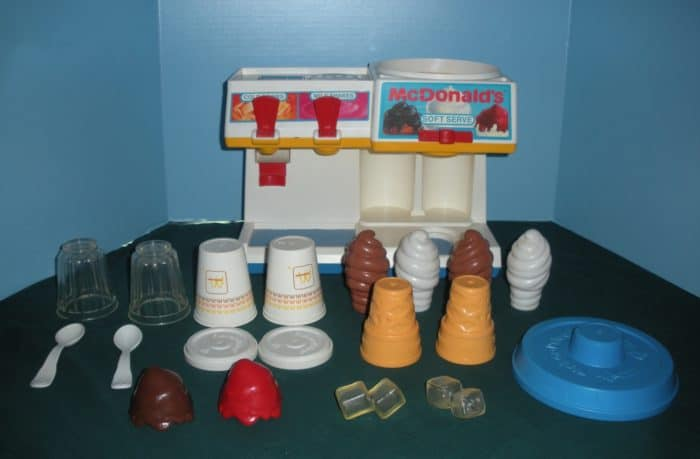 Fisher Price Fun with Food McDonald's Soda Fountain 2118