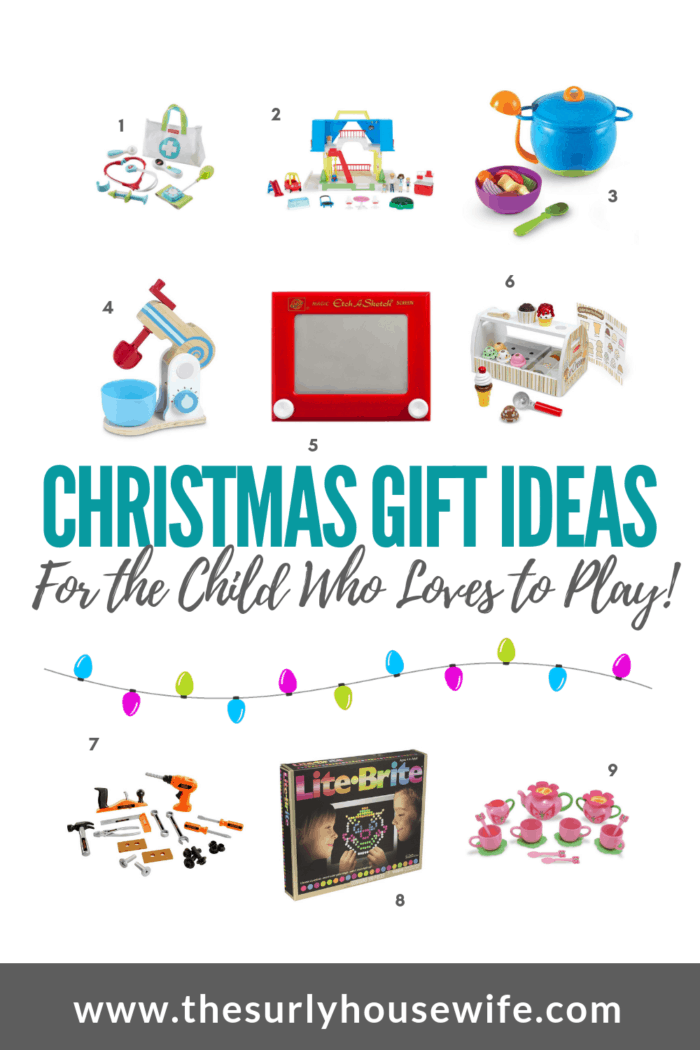 Are you looking for the perfect inexpensive gift for a kid in your life? This gift guide is full of toys inspired by my favorite childhood toys!