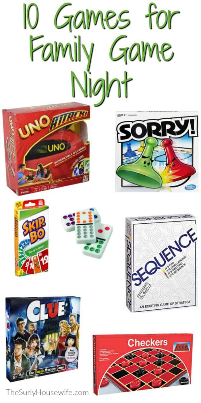 Whether you are looking for family game night ideas or looking to spend more time together as a family, check out this post! It features 10 of the best board games for families, kids, and couples. Play some fun of our family favorite games and have the best family game night possible!