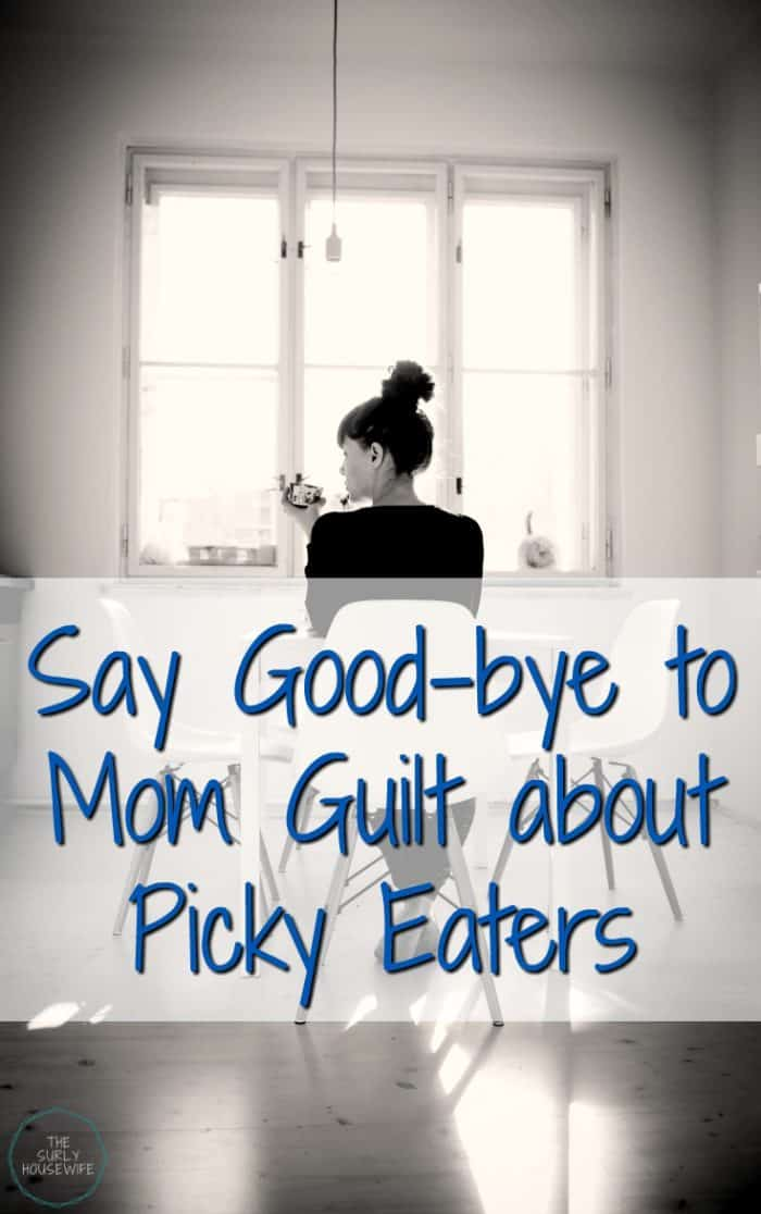 For years I was worried about my children's eating habits. But it's time we stop the mom guilt about picky eaters! Click here to find out why you don't need to feel guilty about your kids eating habits anymore!