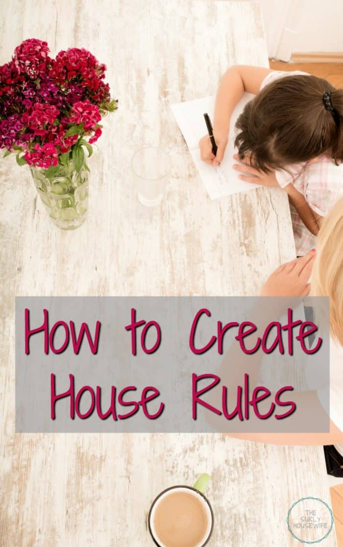 To get your home running smoothly, it is important to establish a list of house rules so your children will know what expect. Click on this post to learn how to create house rules for kids!