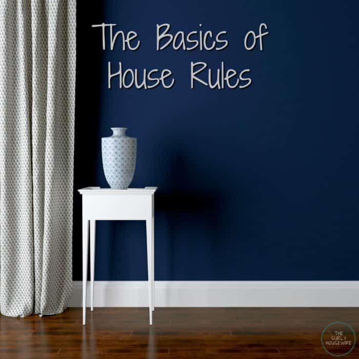How to create house rules for kids