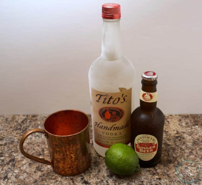 Moscow Mules Ingredients