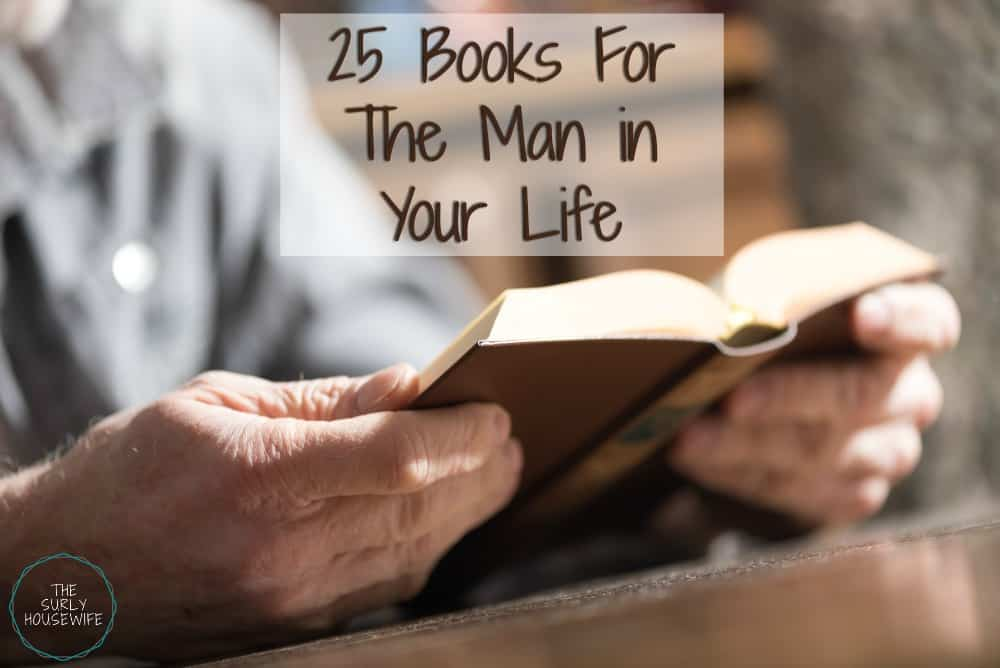 Top books for men title image