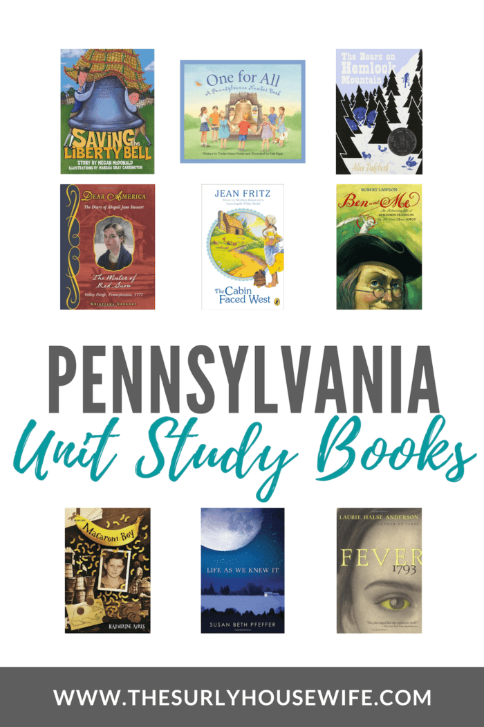 Pennsylvania is a state rich in history making it perfect for a unit study. Check out this post for 20 Pennsylvania unit study books for your homeschool.