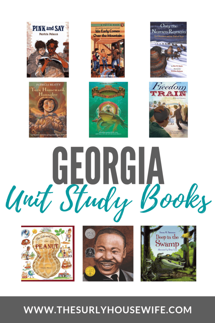 Georgia Unit Study Books