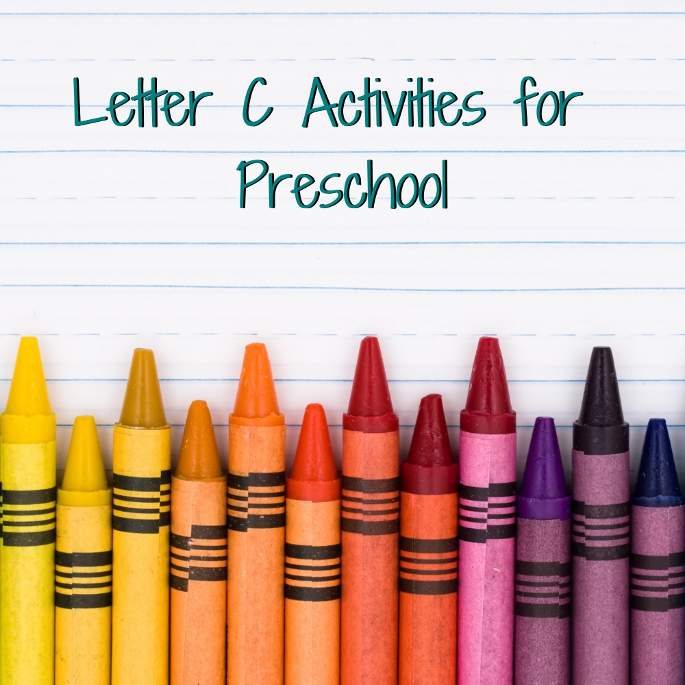 Letter C activities for preschool provide a fun and hands-on way for toddlers, preschoolers, and kindergartens to learn and practice the letter C. This post includes activities for caterpillar, cars, and a sensory cookie activity!