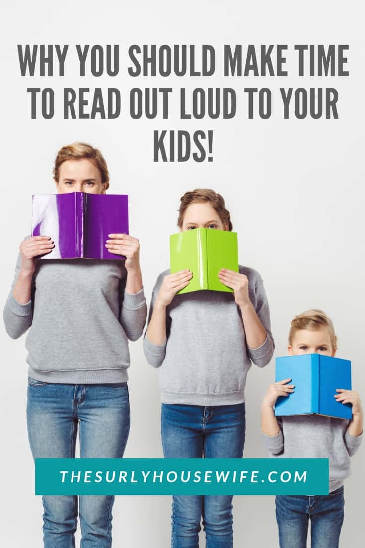 Reading aloud to your children is one way of building strong family bonds. Check out this post for 4 reasons why you should make time for read alouds!