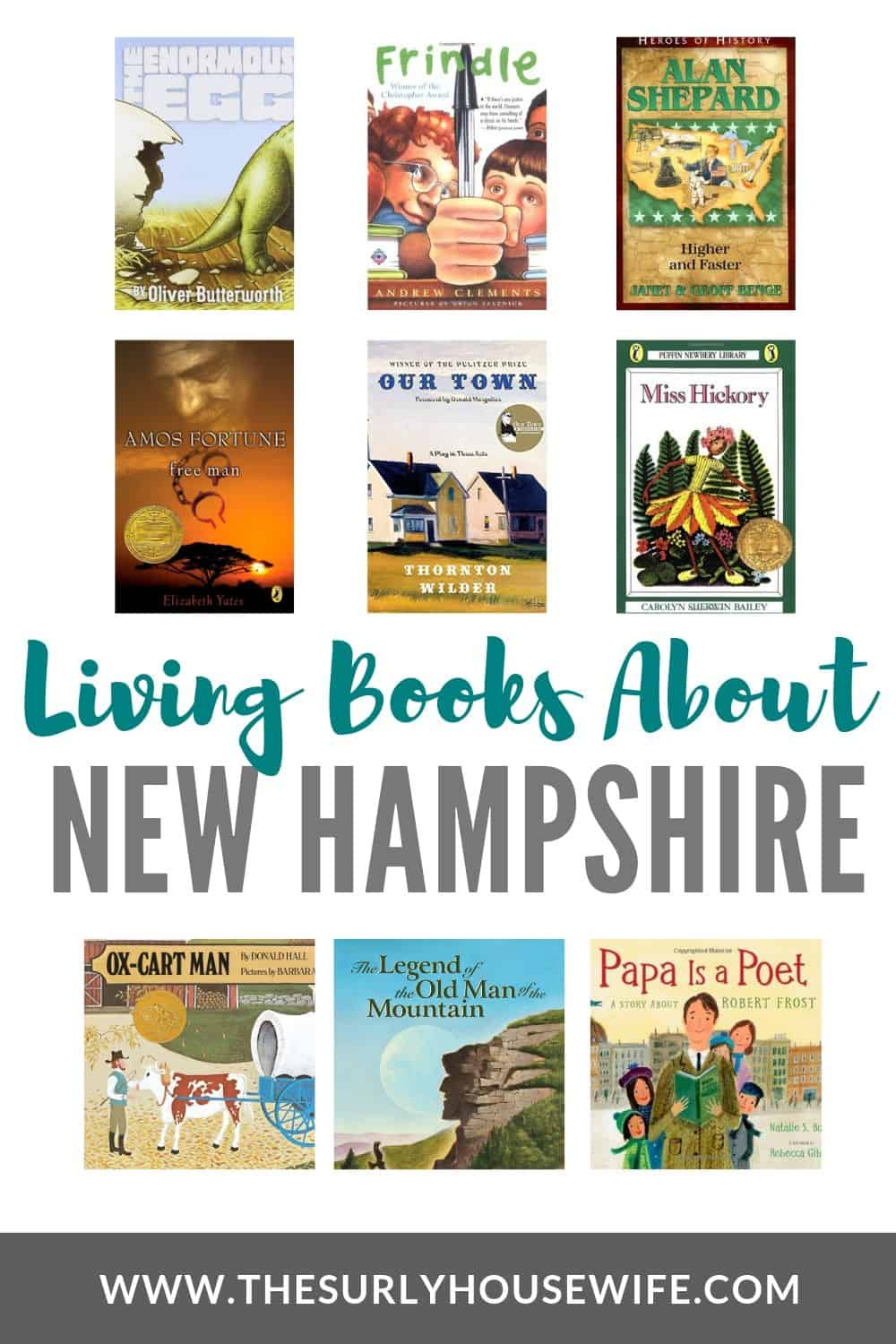 Searching for children's books about New Hampshire? This post has books featuring New Hampshire, New Hampshire history, and famous authors from the state.