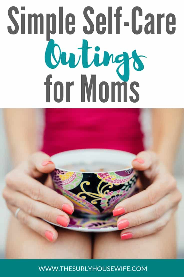 Are you a homeschool mom looking for self-care ideas? Don't miss this post for self-care activities you can do in or out of the house on your afternoon off!