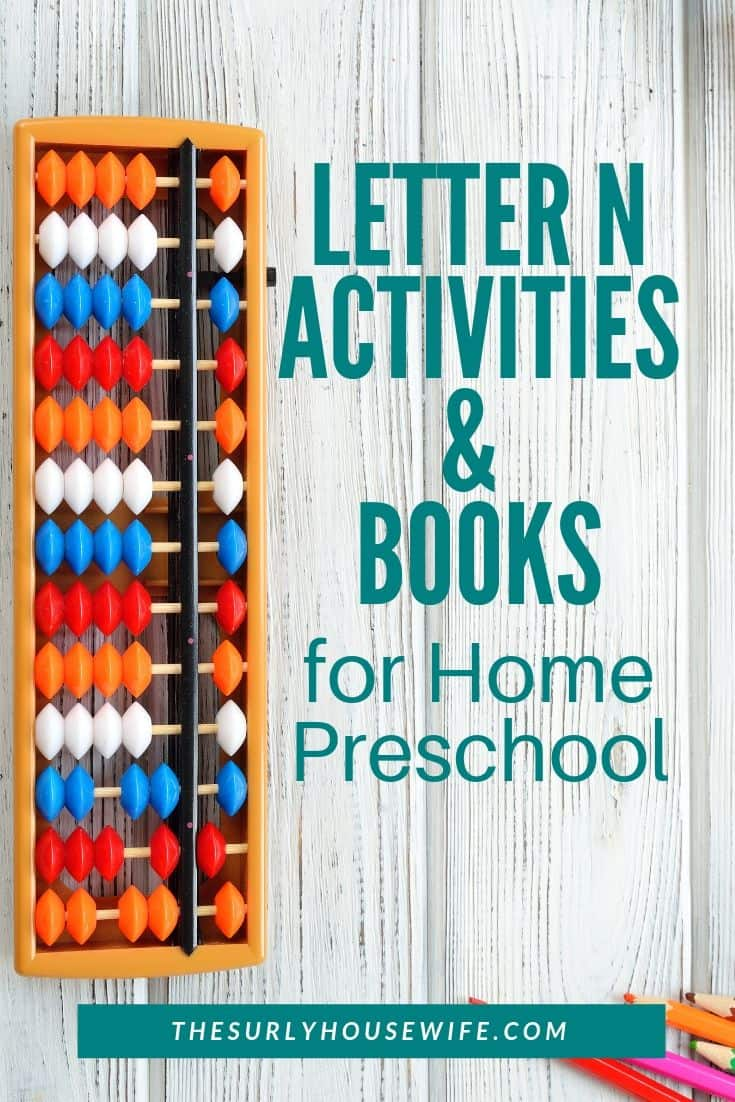 Looking for some fun books and activities to go along with the letter N? These activities, books, lesson plans, and worksheets will help you plan a fun Letter of the Week theme for your home preschool.