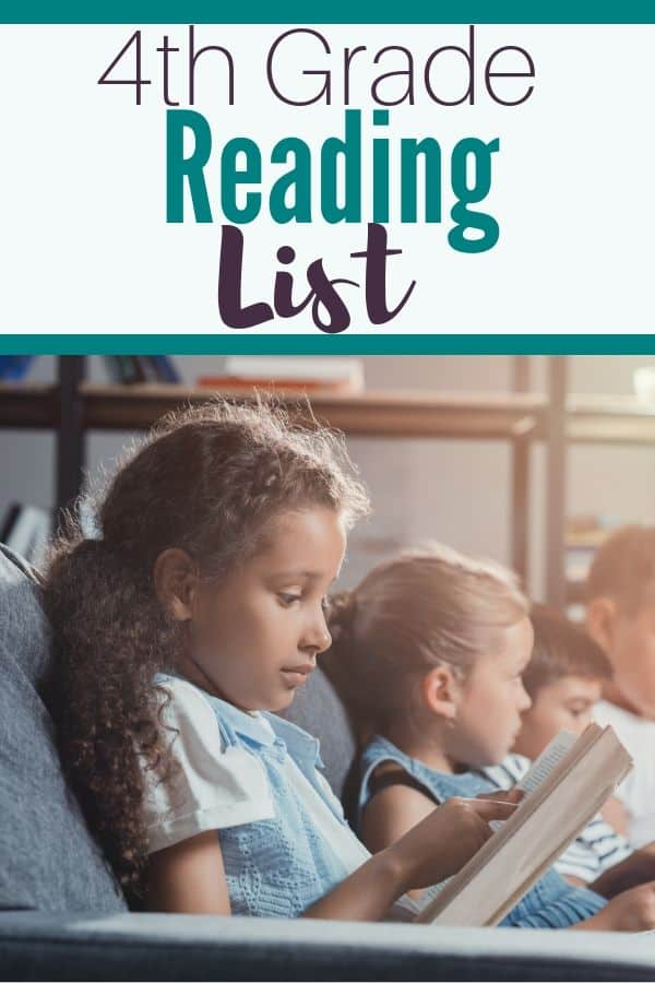 Searching for a fourth grade reading list? Are you a homeschool mom searching for read alouds?Here are 25 book recommendations that SURE to be  your child's next favorite book!