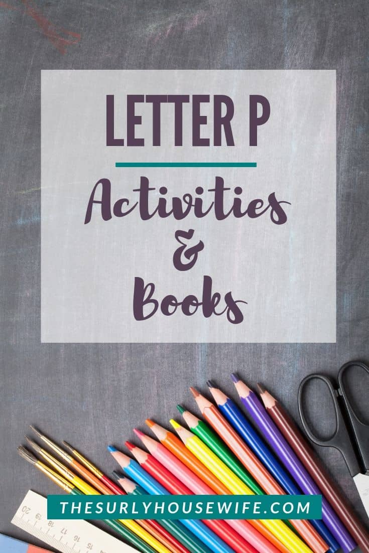 Teaching your preschooler the alphabet? Don't miss this post for Letter P activities including a pirate crafts, pirate books, and sensory play!