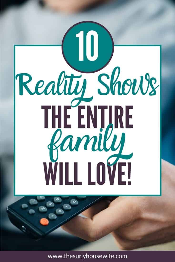 Love reality shows but aren't sure what to watch with your kids? Check out this blog post for 10 family friendly reality shows!
