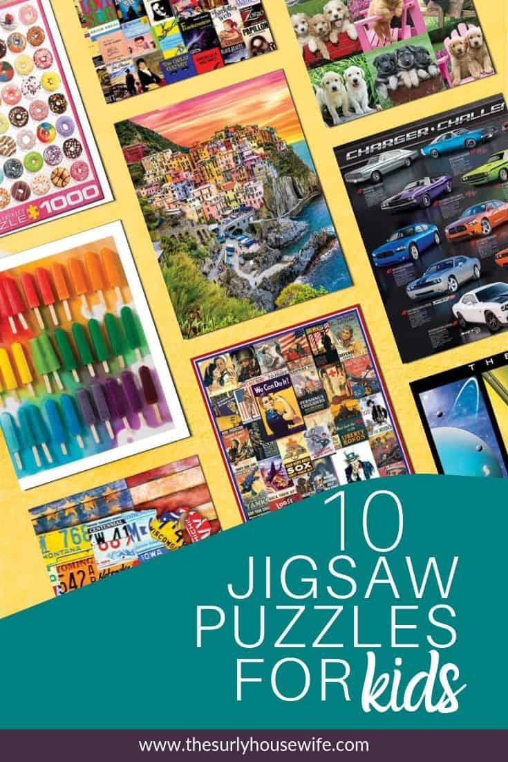 Searching for something for you kids to do during read aloud time? Click on this post for 10 jigsaw puzzles for kids that will make read aloud time for fun! | things kids can do while you read aloud | how to keep hands busy while you read aloud |