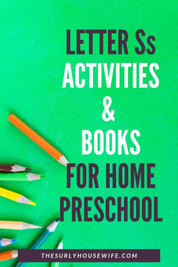 Teaching your preschooler the alphabet? Then you don't want to miss this post for letter S activities, books, crafts, and fun sensory play! | Letter S activities for preschoolers and toddlers | S is for sky preschool theme | Check out these variety of Letter S activities for home preschool!