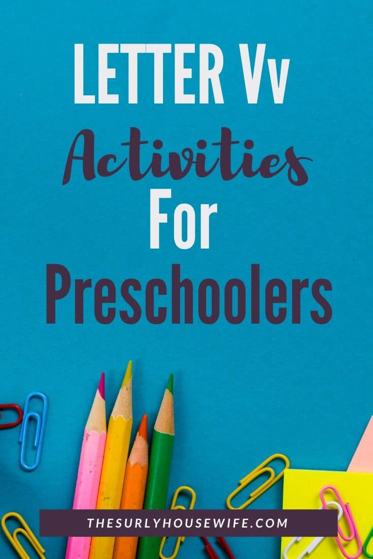 Teaching your preschooler the alphabet? Click here for letter V activities, books, crafts, and sensory play all with a vegetable theme! | Letter V activities for preschoolers and toddlers | V is for vegetables