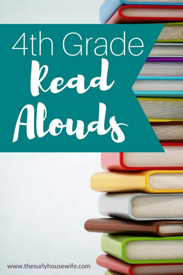 Looking for read aloud suggestions for your fourth grader? Don't miss this post for 10 fourth grade read alouds you can fit into your homeschool day!
