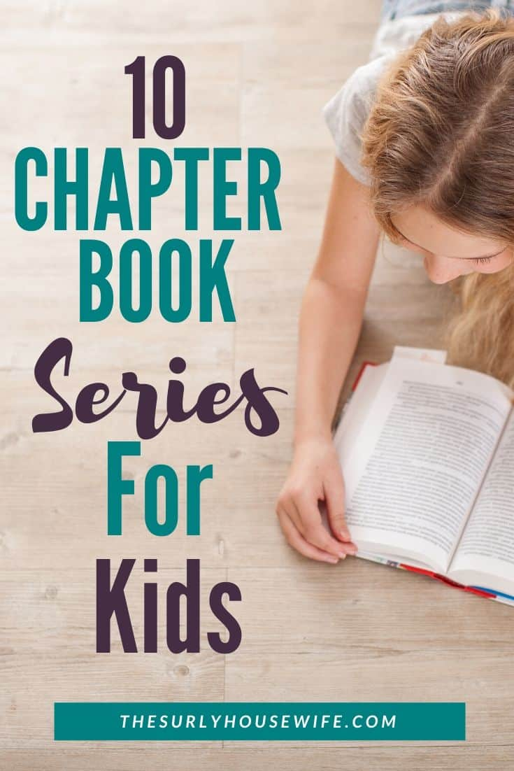 Does your child love to ready chapter book series? Then don't miss this post for 10 of the best chapter book series for 8-12 year olds. It includes excellent books for boys and girls as well as classics like The Chronicles of Narnia and Harry Potter!