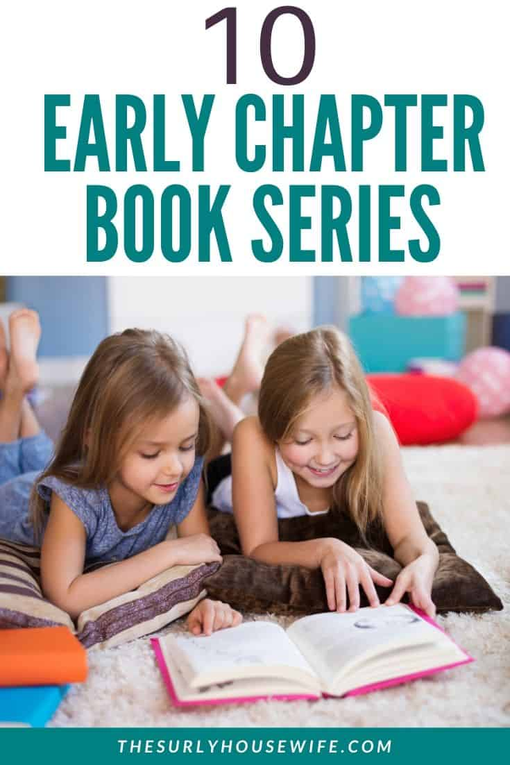 Did you child just start reading short chapter books? Are you looking for chapter book series for early readers?  Don't miss this post for 10 early chapter book series featuring books for girls and boys from ages 6-8 or 1st, 2nd, or 3rd grade!