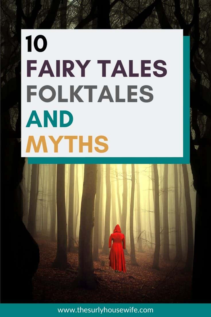 Are you searching for fairy tale books for  kids? Or for folktale books for kids? What about myths and mythology? Traditional stories and fables have stood the test of time. Then don't miss this post which has 10 fairy tales, fairy tale retellings, folktales, and myths for kids of all ages.