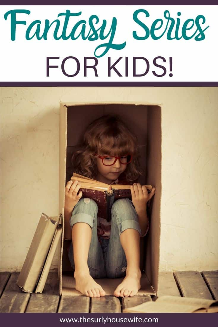 Does your child love fantasy books or Harry Potter? Or maybe your child isn't ready for Harry Potter yet but they love fantasy books. Whether you are looking for boys or girls, check out this post for 10 fantasy books for kids to read after Harry Potter! Bonus: they are all fantasy book series!