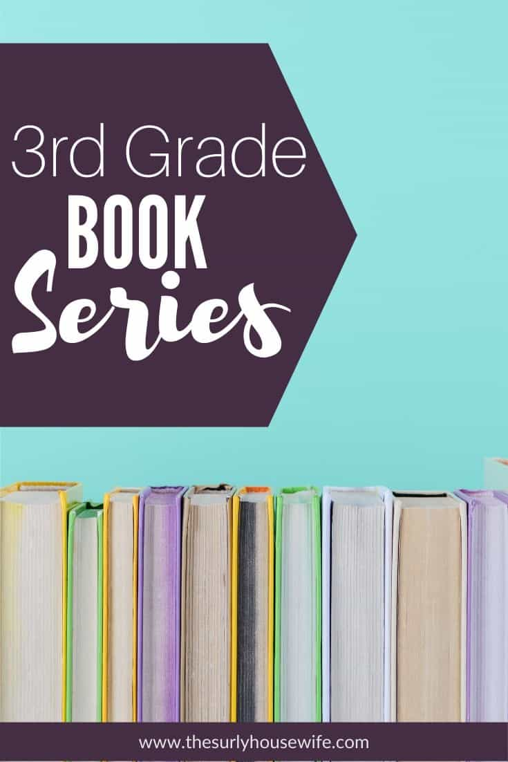 Does your child love to read chapter book series? Are you looking for a good book series for your 3rd grader?  Then don't miss this post for 10 of the best book series for third graders. It includes early chapter books, books for boys and girls, and classics like Pippi Longstocking and Shiloh! Don't miss this post for addicting chapter books series for 3rd grade (third graders)