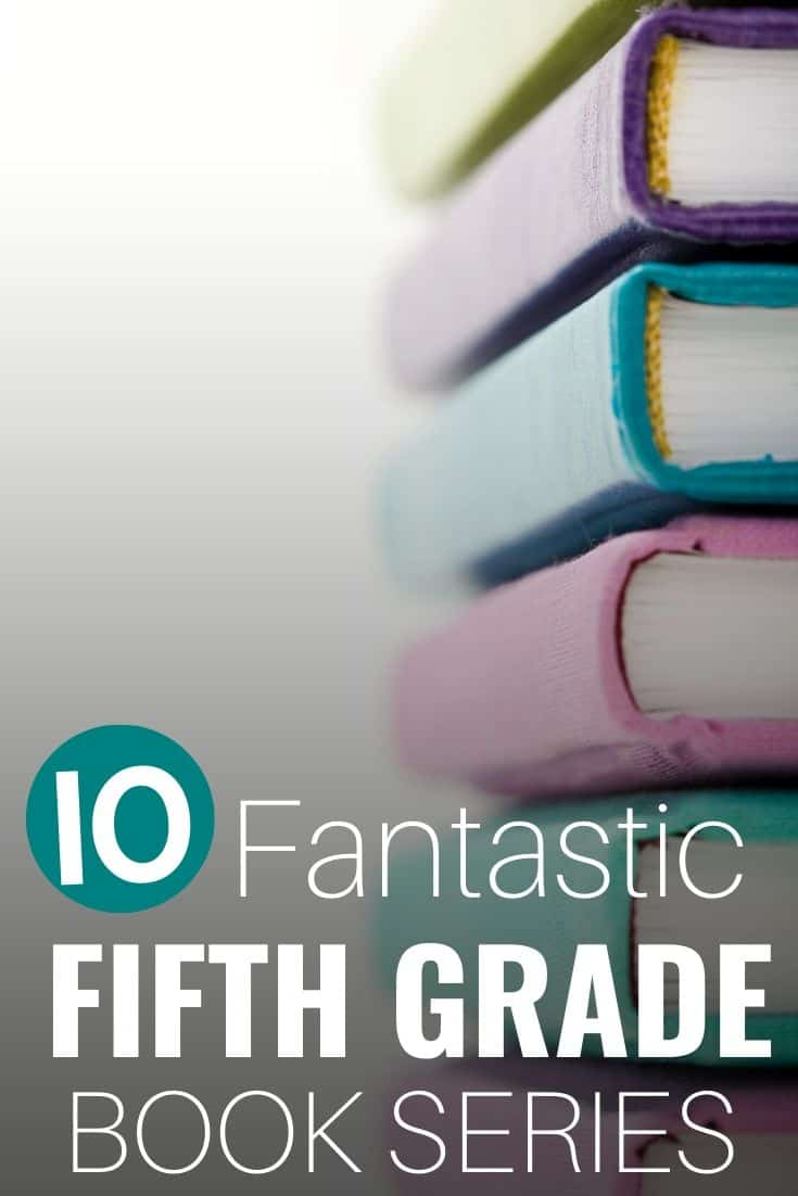 Are you looking for a good 5th grade book series? Do your kids love chapter book series? Then don't miss this post for 10 of the best book series for fifth graders. It includes books for boys and girls, classics like Henry Huggins and fantasy book series like Percy Jackson! Don't miss this post for addicting chapter books series for 5th grade (fifth graders)