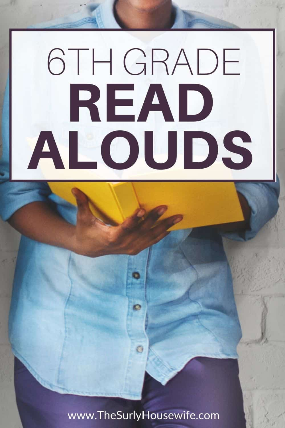 Looking for read alouds for older kids or students? Searching for 6th grade read alouds? Click here for 10 of the best read aloud books for 6th graders!