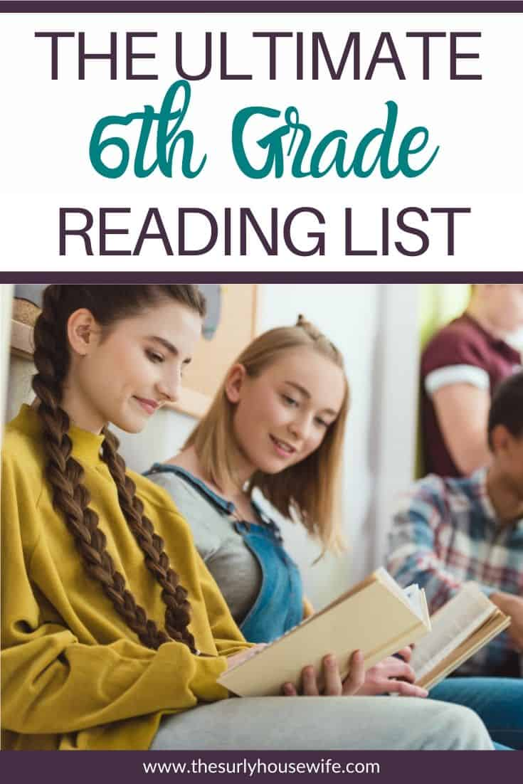 Searching for a sixth grade reading list or are perhaps you are in need of some great books for your 6th grader? Whether you are a homeschool mom searching for read alouds or for books for your 6th grader, this list has you covered! It has 25 books sixth graders will love! The ultimate list of suggestions for 6th grade books. This list of 25 6th grade books is certain to contain your child's next favorite book!