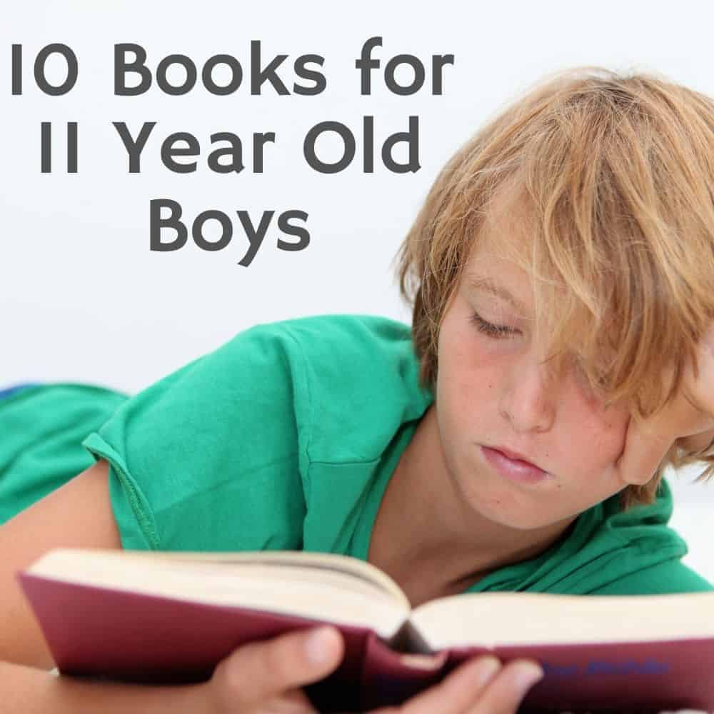 Boy reading a book on the floor. Title image for blog post: 10 books for 11 year old boys