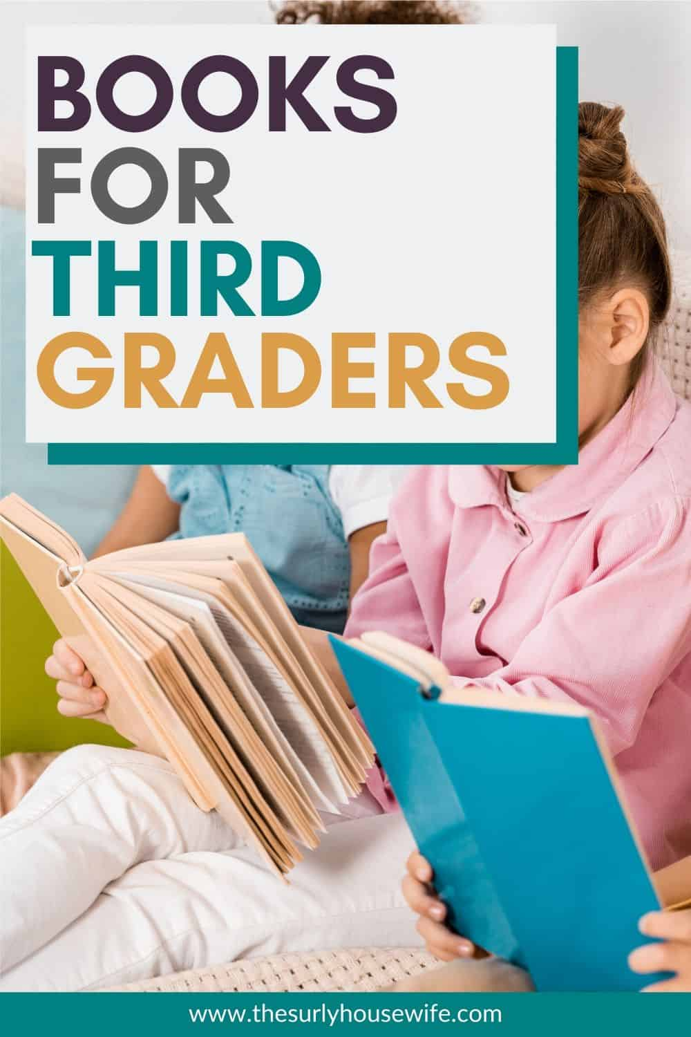 Searching for books for 3rd graders? If you are looking for some of the best third grade books for boys OR girls, click here! A list of must-read books and chapter book recommendations for third graders or 9 year olds.