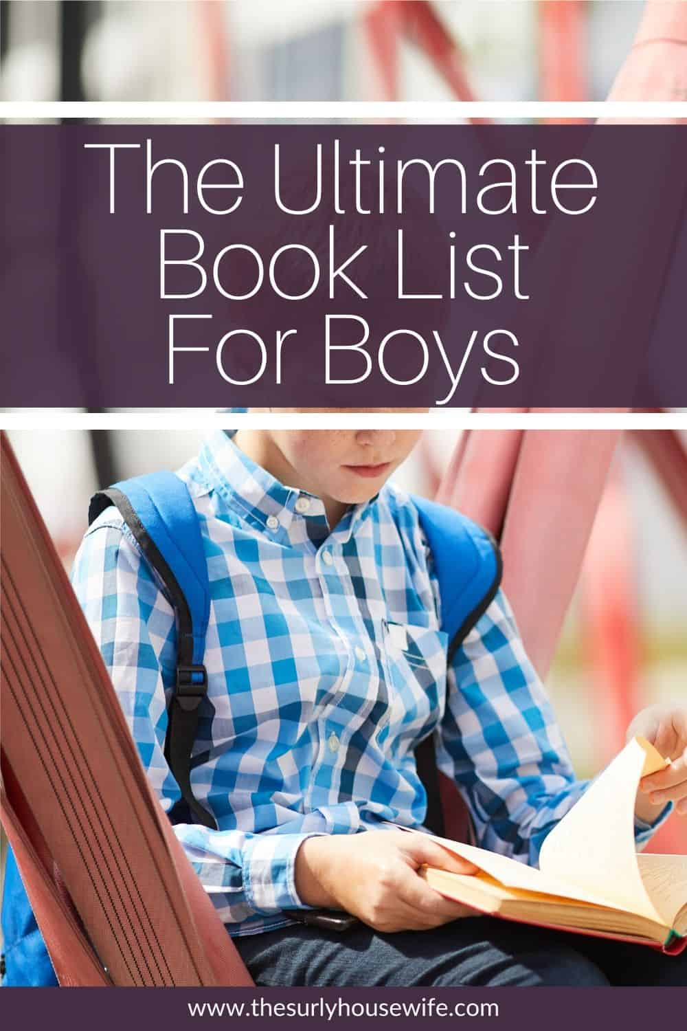 Searching for books for boys? Don't miss this post which features the best chapter book for boys including adventure, survival, and more! Perfect for boys between the ages of 8 and 12, for boys who don't like to read, and for family read alouds.