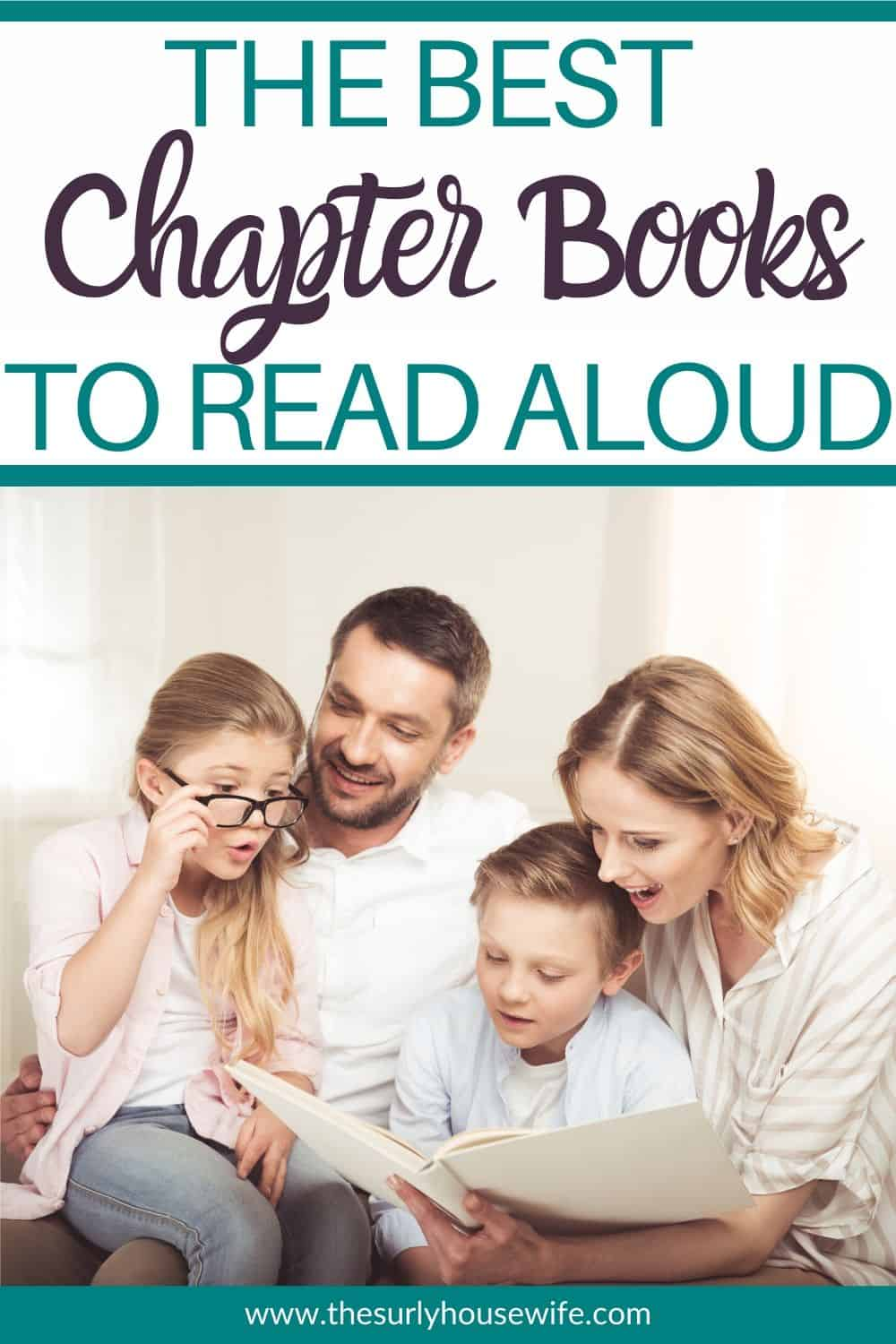 Looking for chapter books to read aloud? Searching for the perfect read aloud for kids ages 5-12? Whether you are looking for read aloud for families or the best read aloud for your children, check out this post! It has over 25 amazing chapter book read aloud perfect for all ages!