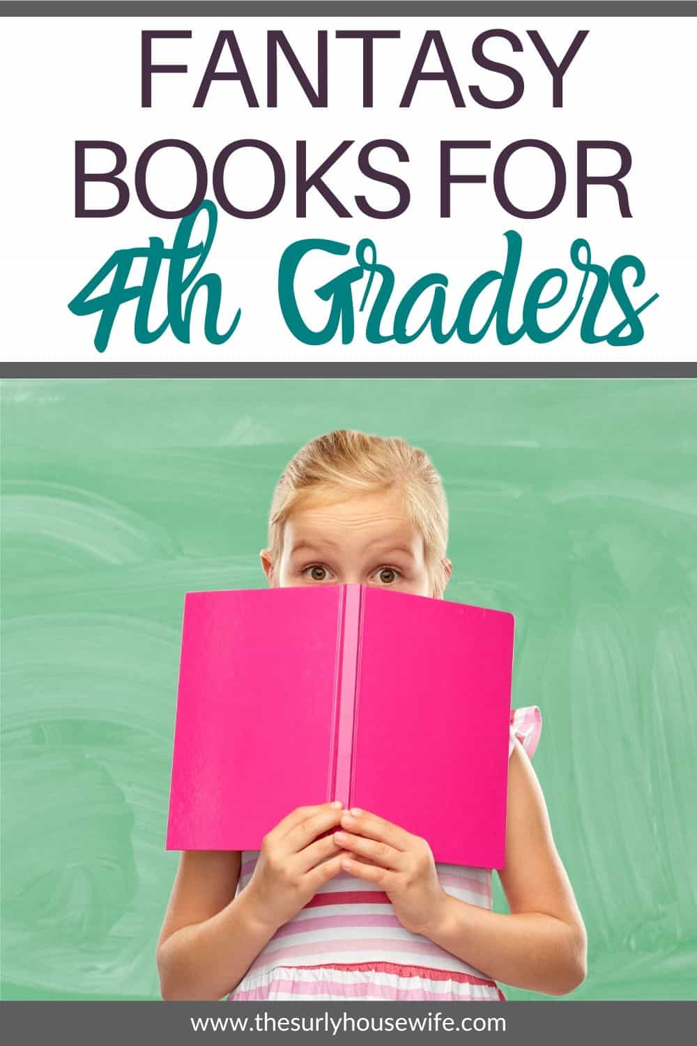 Nothing cures a reluctant reader like a good fantasy book. Check out this post for 10 of the best fantasy books for kids. Don't miss this post for some of the best books for 4th graders/10 year olds
