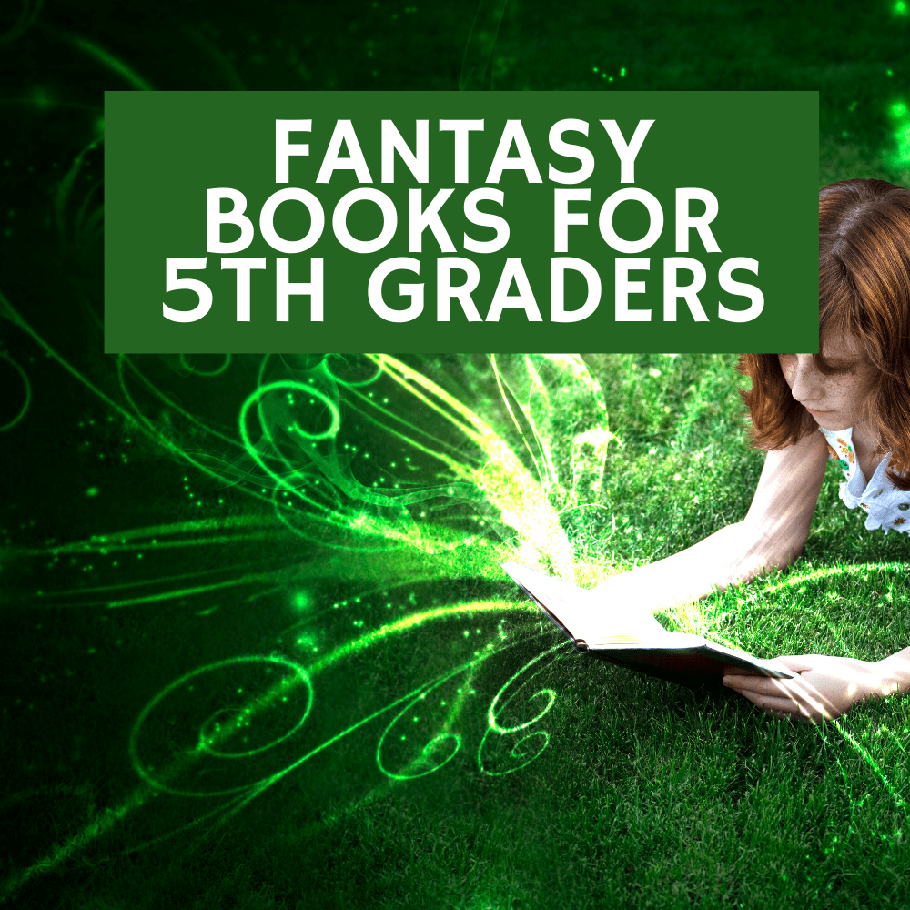 Title image of blog post:10 fantasy books for 5th grade