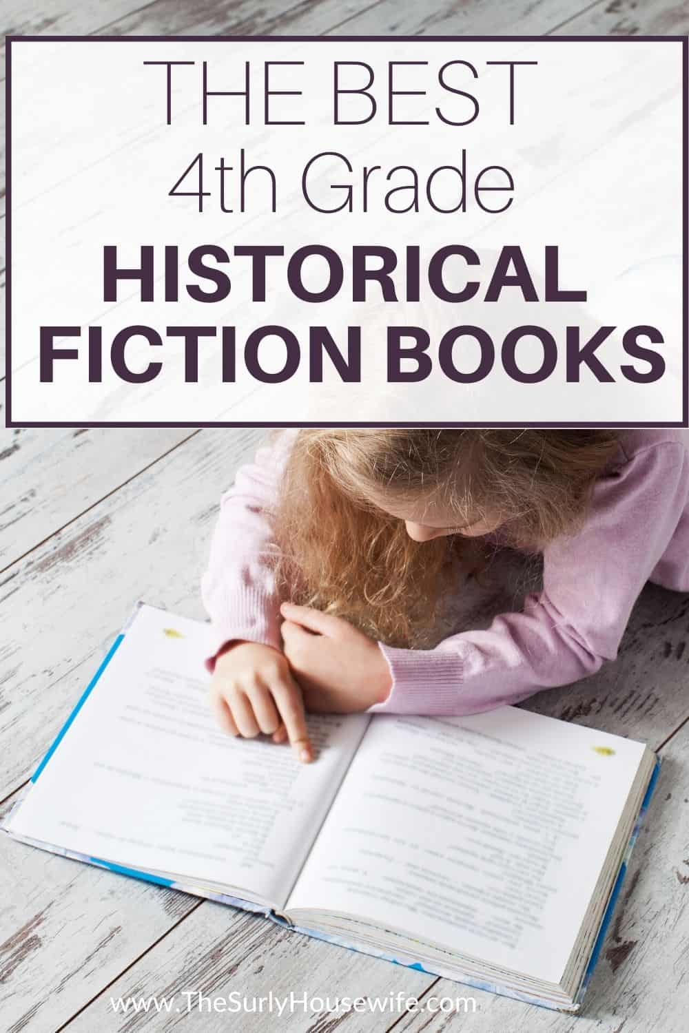 best historical fiction for 4th graders
