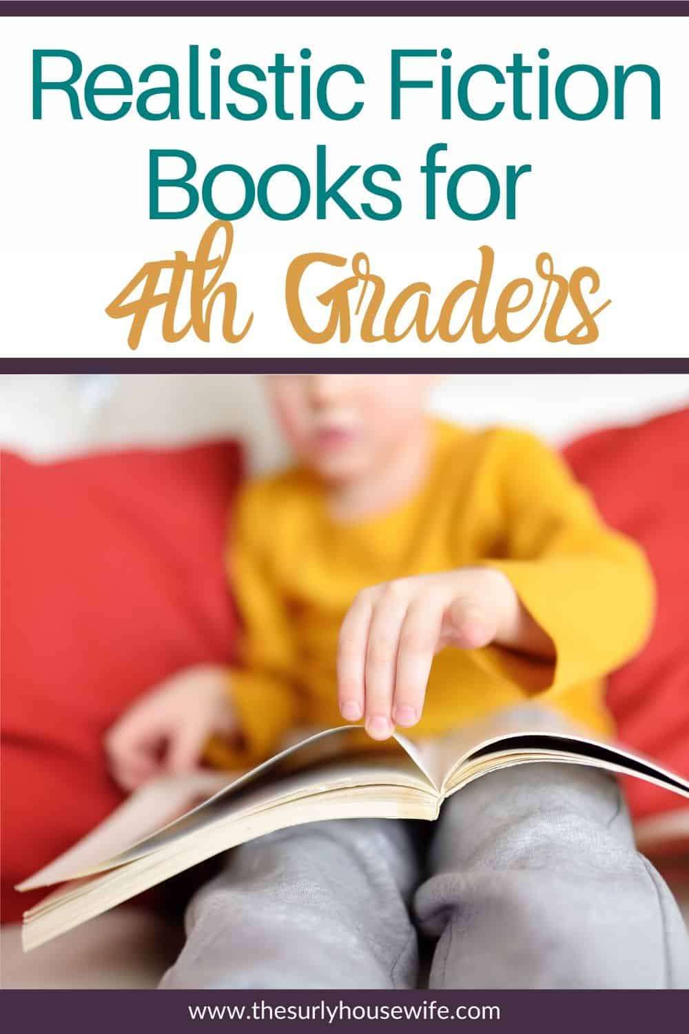 Searching for realistic fiction books for kids? Don't miss this post for some of the best books for 4th graders featuring the best realistic fiction. Perfect for 4th grade summer reading list, reading aloud, or independent reading.